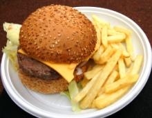 一番人気はハンバーガー?
